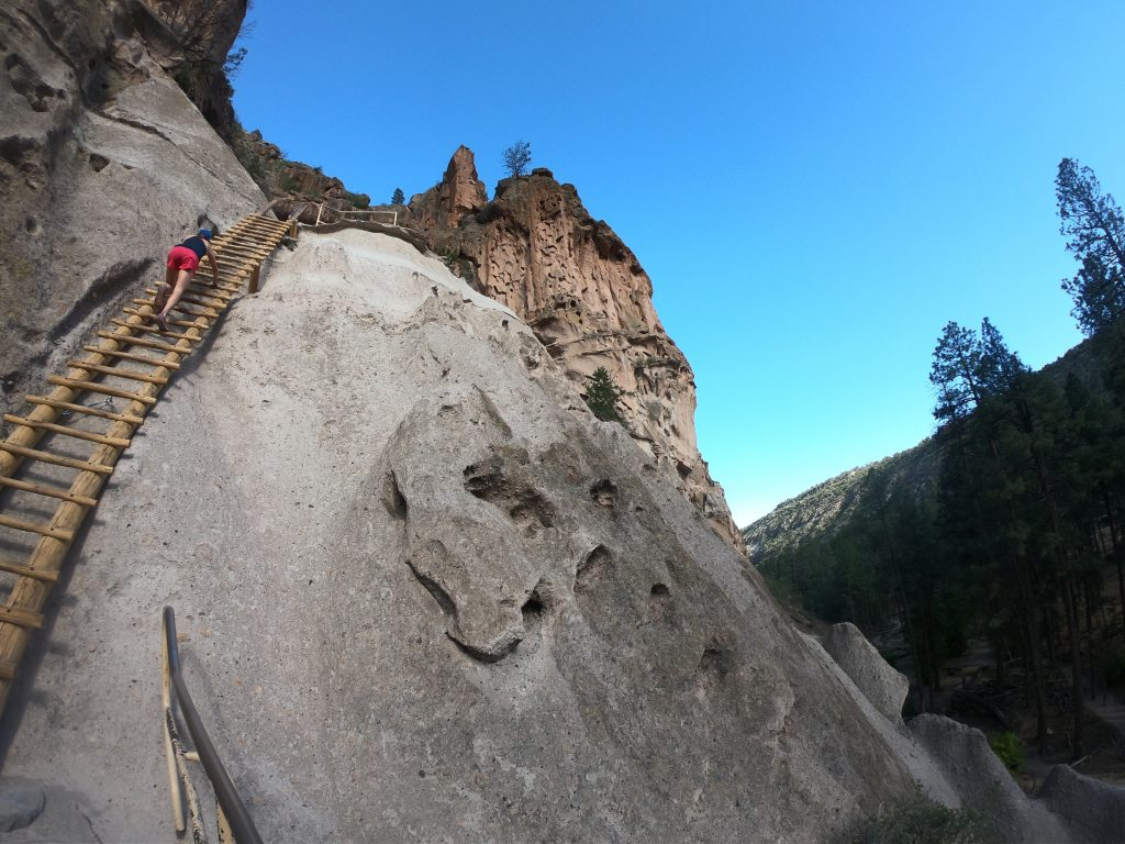 Bandelier has some spicy trails